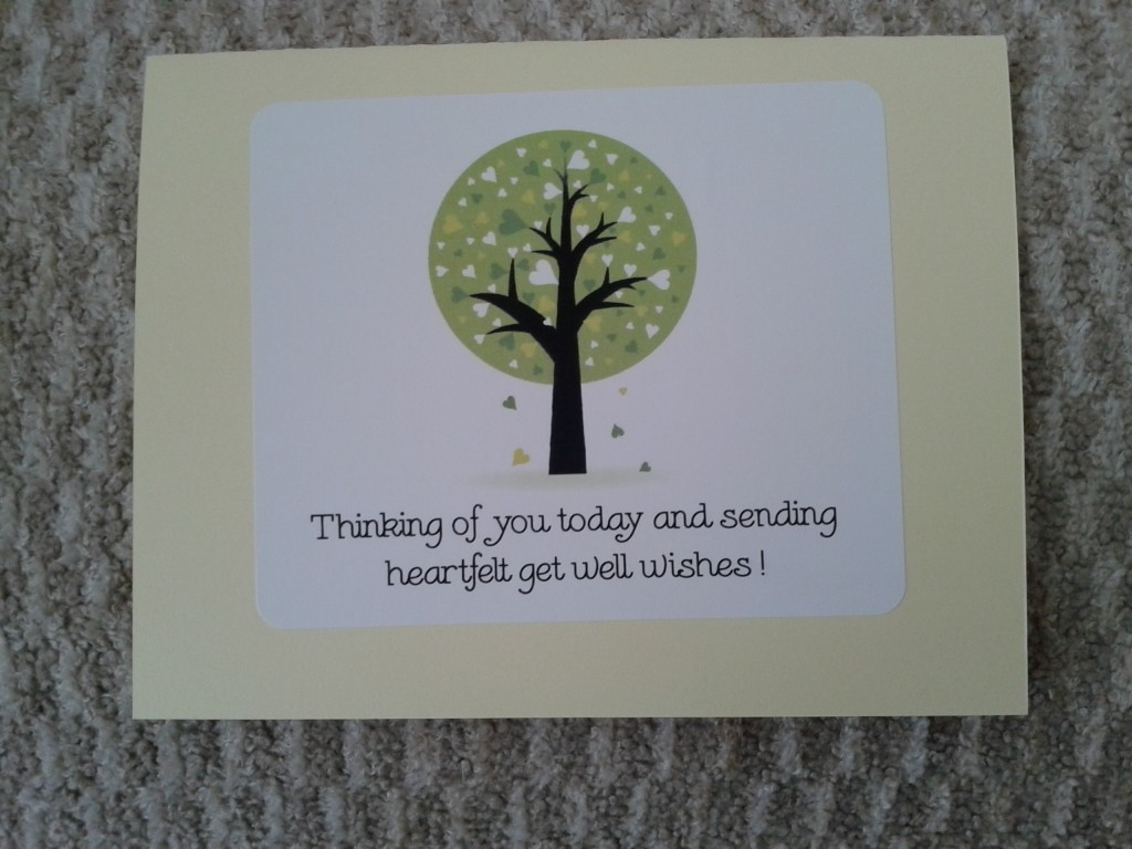 Card get well outside