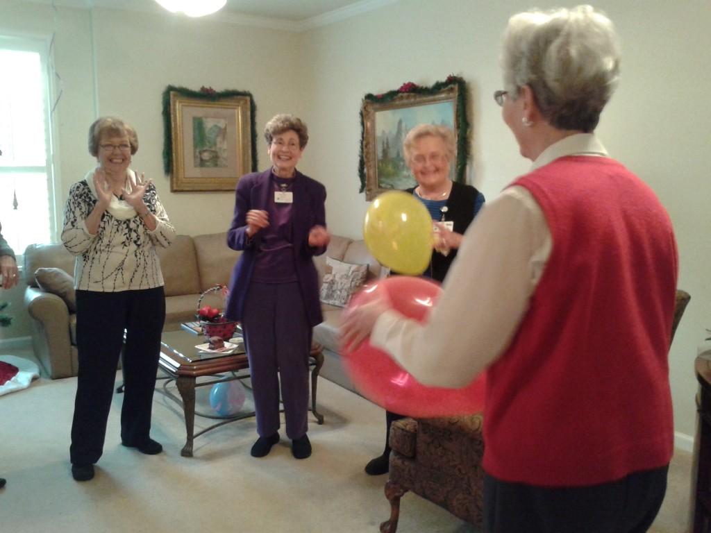 Balloon game 1