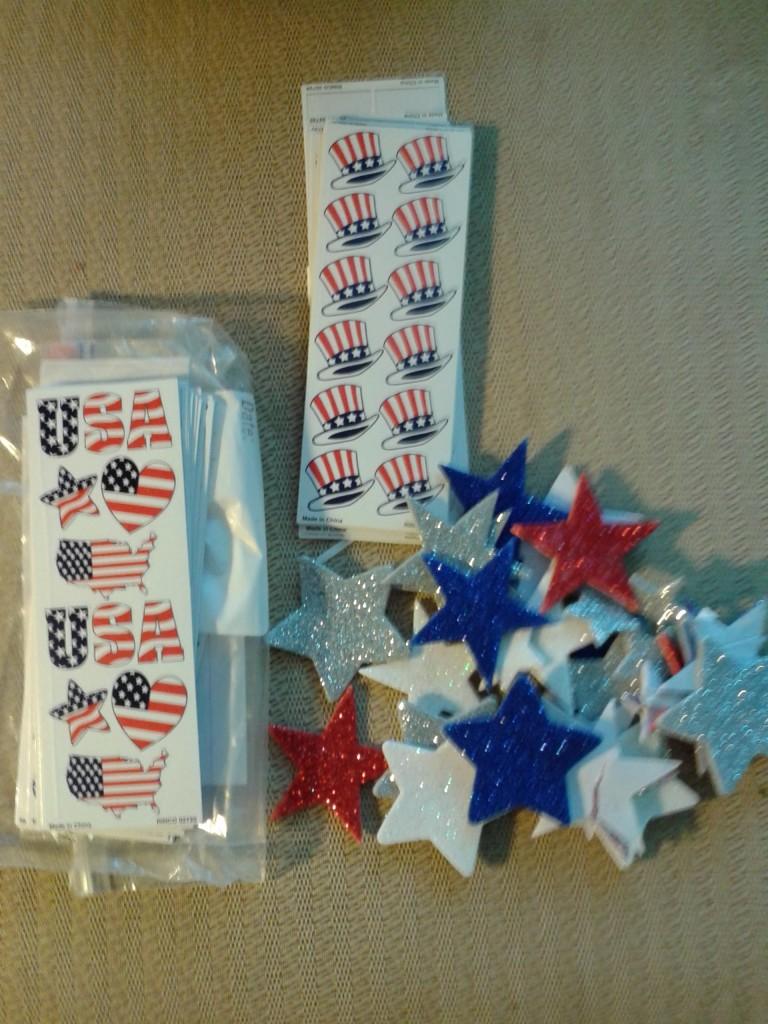 Supplies stickers 2