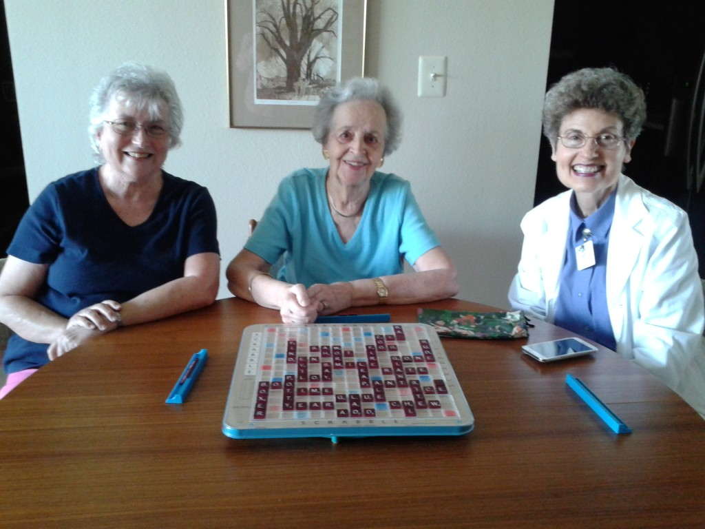 Scrabble players 1